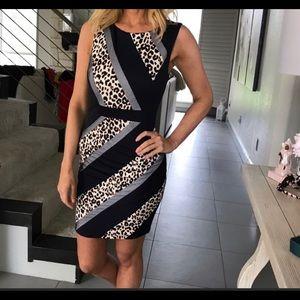 Multi-Designs Dress—S